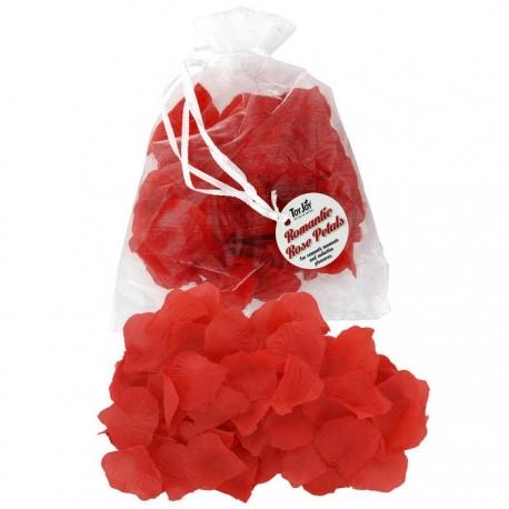 Červené lupene ruží Romantic Rose Petals Red