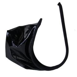 Pánske spodné prádlo C-string Lack Black PVC