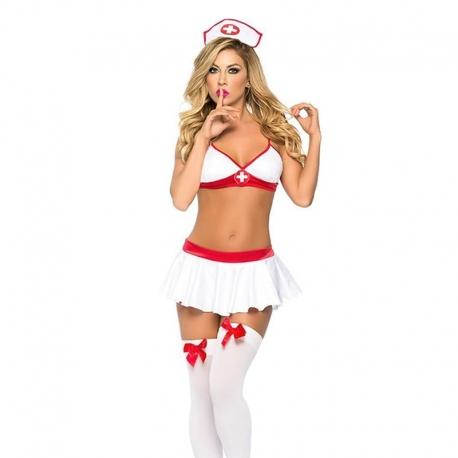 Sexy kostým zdravotná sestrička Nurse 4Set