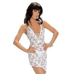 Sexy mini šaty s tanga nohavičkami 6314