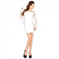 Biele minišaty Mini Dress BS025 White