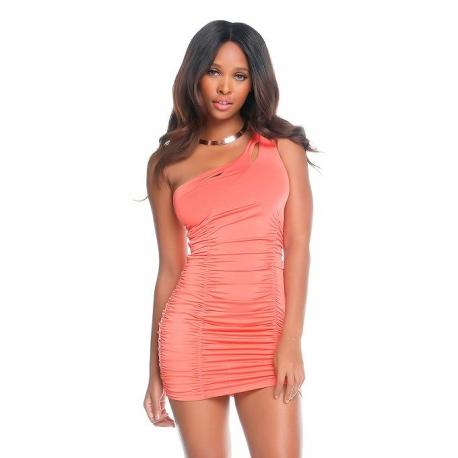 Ružové mini šaty Forplay BLVD Collection 883006