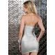 Strieborné mini šaty Forplay BLVD Collection 883723