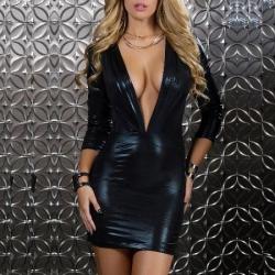 Čierne mini šaty Forplay BLVD Collection 883905