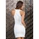 Biele mini šaty Forplay BLVD Collection 883909