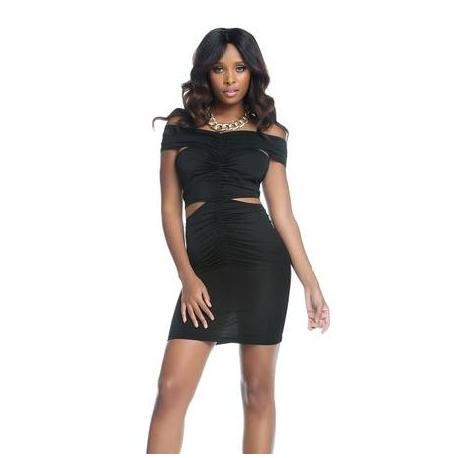 Čierne mini šaty Forplay BLVD Collection 884567