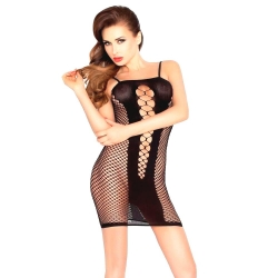 Čierne minišaty Mini Dress BS027 Black