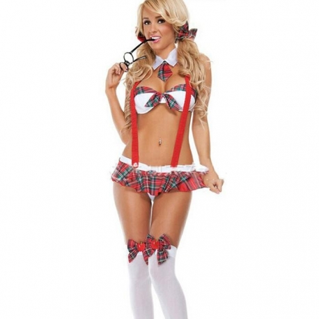 Sexy mini kostým školáčky Schoolgirl