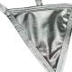 Strieborné tangá Metal Mini String Silver