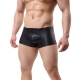 Wet-look Pants Black SMB1 Pánske boxerky Luxury