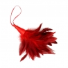 Tickle Feather Red Pierko na šteklenie