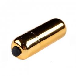 Chrome Mini Bullet Gold Intímny stimulátor
