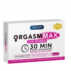 ORGASM MAX Women tablety pre ženy.
