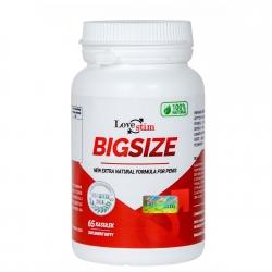 BIGSIZE tablety pre sexuálnu aktivitu mužov.