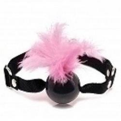 Feather Ball Gag