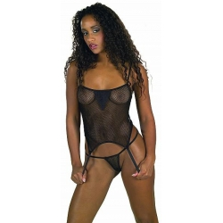 Suspender top & string