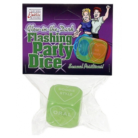 Flashing Party Dice