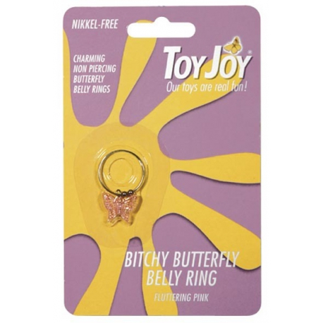 Bitchy Butterfly Belly Ring