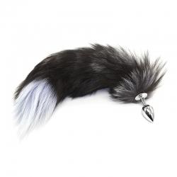 Chvost s kovovým kolíkom Fox Tail