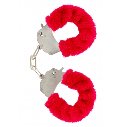 Furry Love Cuffs - Red