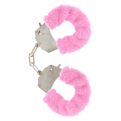 Furry Love Cuffs - Pink