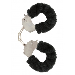 Furry Love Cuffs - Black