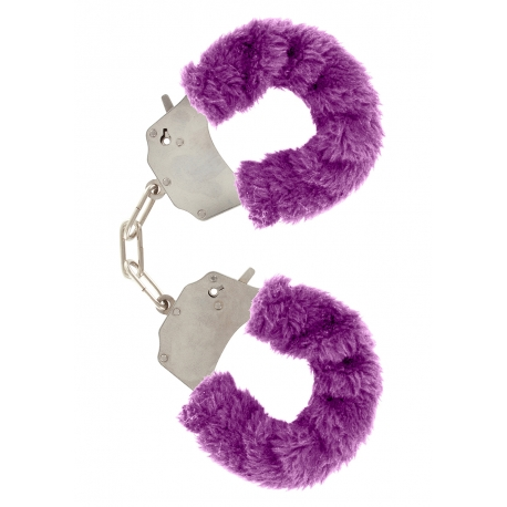 Furry Love Cuffs - Purple