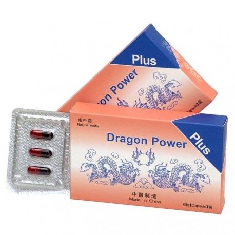 Tablety pre mužov Dragon Power Plus