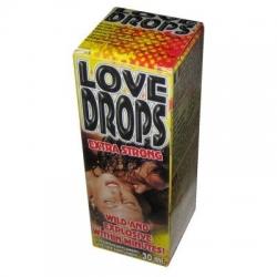 Afrodiziakum kvapky Love Drops Extra Strong