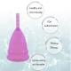 Menštruačný kalíšok Viva Silicone Menstrual Cup S