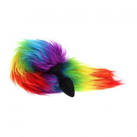 Análny kolík s chvostom Rainbow Tail