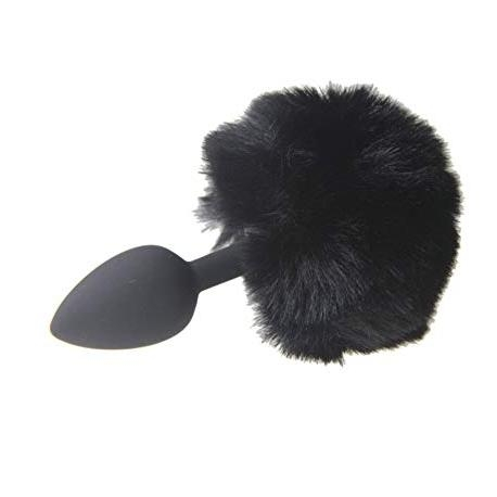 Zajačí chvostík Rabbit Tail Black