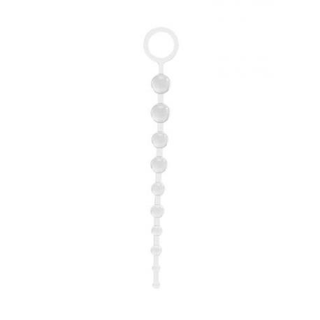Análna guličková reťaz 10 Beads Crystal