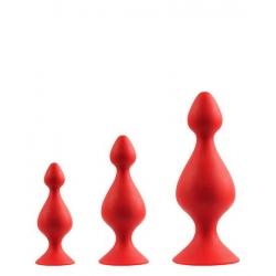 Sada análnych kolíkov Anal Pawn Set Red