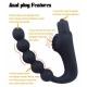 Análny vibrátor Prostate 5 Balls Vibe Black