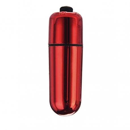 Intímny stimulátor Chrome Mini Bullet Red