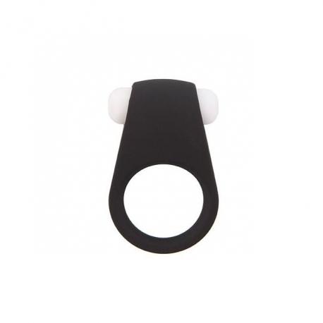Vibračný krúžok na penis Lit-Up Silicone Ring Black
