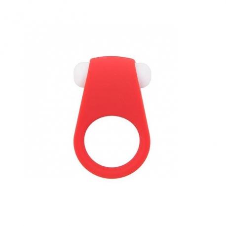 Vibračný krúžok na penis Lit-Up Silicone Ring 1 Red