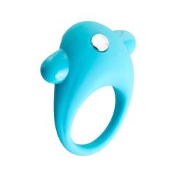 Vibračný krúžok Cock Ring 8Tirkis