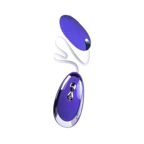 Silikónové vibračné vajíčko Vibrating Egg Purple