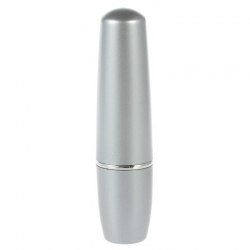 Mini vibrátor na klitoris Lipstick Silver