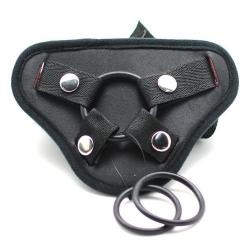 Samostatné univerzálne popruhy na dildo Strap On Black