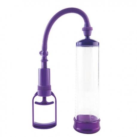 Pánska vákuová pumpa Erection Purple