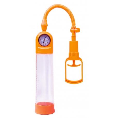 Vákuová pumpa s manometrom Vacuum Pump Orange