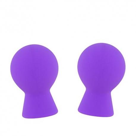 Pumpy na bradavky Silicone Nipple Suckers Purple