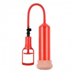 Pánska vákuová pumpa Push Touch Sense Red