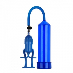 Pánska vákuová pumpa Finger Touch Blue