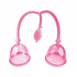 Vákuová pumpa na prsia Dual Breast Suction Cups