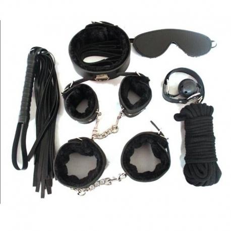 BDSM sada pomôcok Fetish Kit Black
