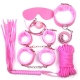 BDSM sada pomôcok Fetish Kit Pink